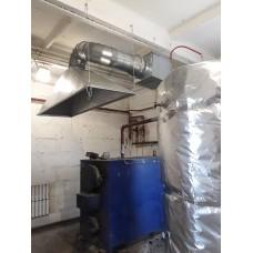 Монтаж системы отопления на предприятии