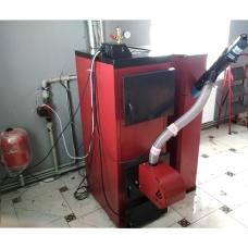 Установка и запуск SWaG-Pellets 25 кВт в ресторане