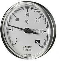 Термометр CEWAL PST 63 P фронтальный Ø63 0/120°С 5 см